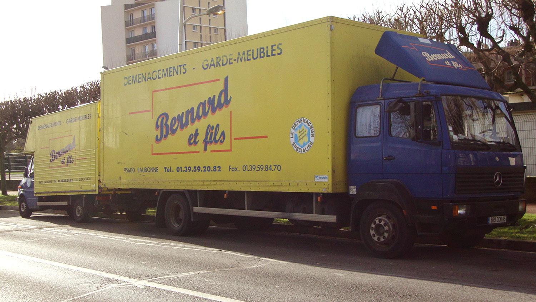 Camion pour déménagements particuliers et professionnels 95