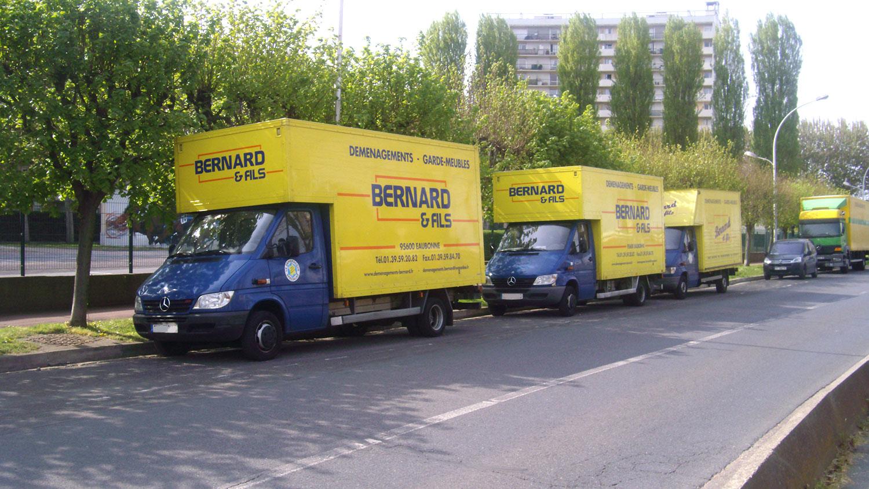 Camion de déménagement Bernard et Fils Eaubonne(95120)